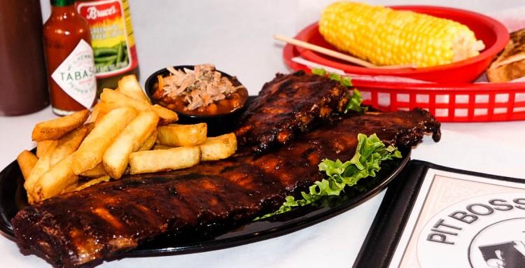 Rib Platter, BBQ Catering