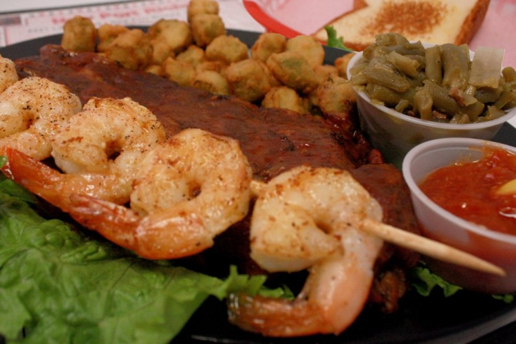 Baby-Back-Ribs-And-Grilled-Shrimp-Catering
